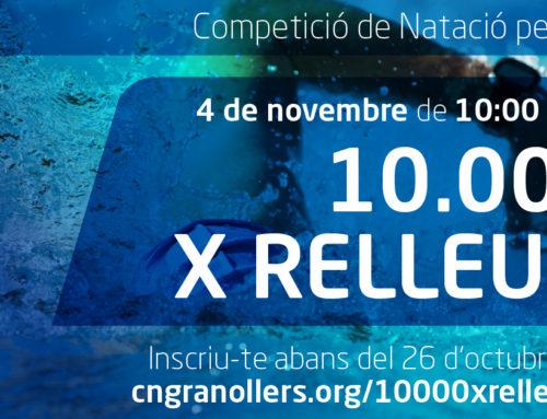 Els 10.000 x Relleus, la prova de natació per equips, obre inscripcions