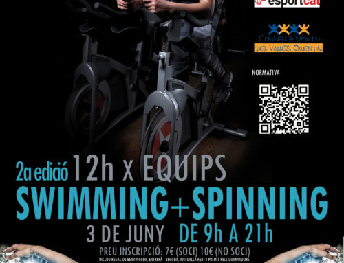 Tornen les 12 Hores per Equips, que combina swimming i spinning