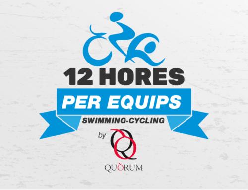 Obertes les inscripcions per a la quarta edició de les 12 Hores Swimming&Cycling by Quorum