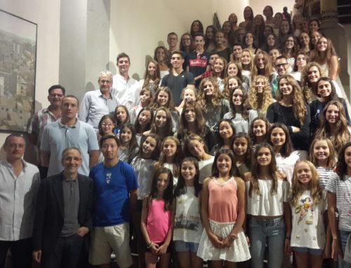 L'Ajuntament de Granollers rep als campions d'Espanya i internacionals d'estiu