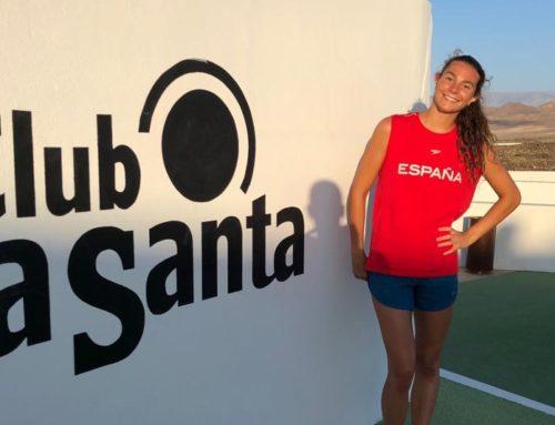 Abril Conesa, convocada amb la selecció espanyola a Lanzarote