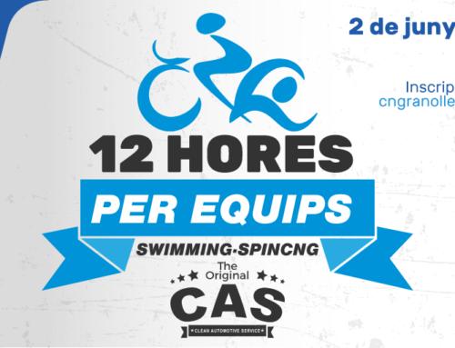 Arriben les 12 Hores per Equips by The Original CAS,  la competició que combina swimming i spinning