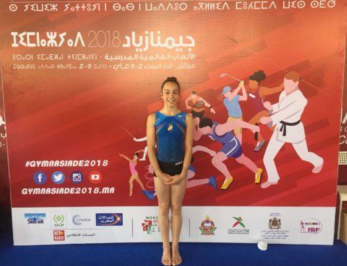 Berta Pujadas, 6a a salt a la Gimnasiada