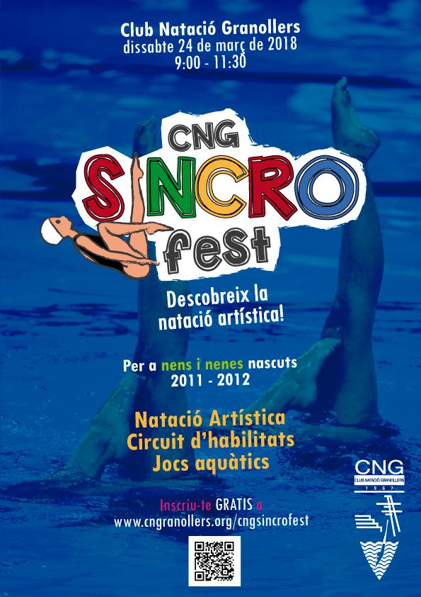 Sincro Fest, jornada lúdica per a conèixer la natació artística