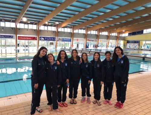 Estrena exitosa de les nedadores de Copa Catalana 2