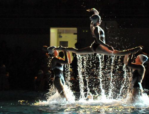 Dissabte 17 de desembre, Exhibició de Nadal de natació sincronitzada!