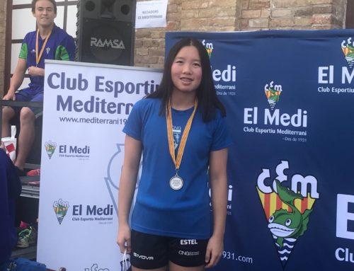 Estel Xuan Galo, convocada amb l'equip espanyol d'aigües obertes