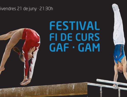 El tradicional Festival de Fi de Curs reuniràels 170 gimnastes de la secció d'artística