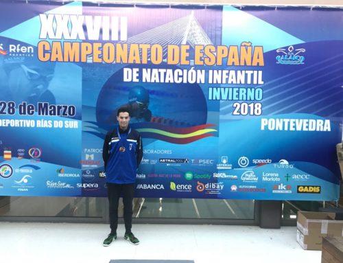 Héctor Morales, bronze al Campionat d'Espanya Infantil