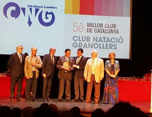 El CN Granollers, 5è millor club català del 2016