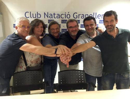 Eduard Escandell, nou president del Club Natació Granollers