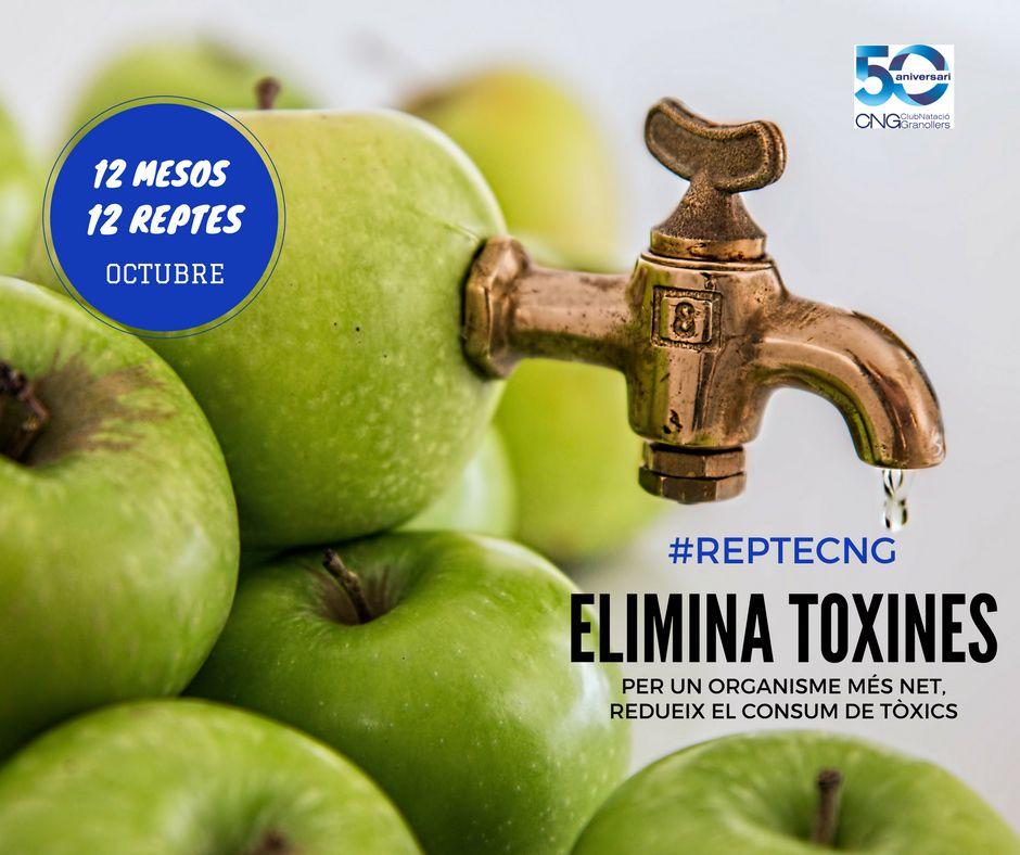 #RepteCNG del mes d'octubre… elimina toxines del teu cos