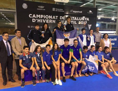 El CNG, 4t al Campionat de Catalunya Infantil,amb 17 podis i 11 mínimes d'Espanya
