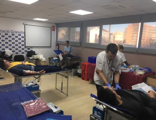 84 pacients es beneficiaran de les donacions de sang realitzades al Club