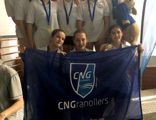 Or i plata a la 2a Jornada del Campionat de Catalunya de Copa Catalana, que va acollir el CNG