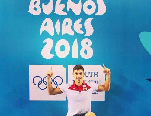 Marcos Gil, competint als Jocs Olímpics de la Joventut a Argentina