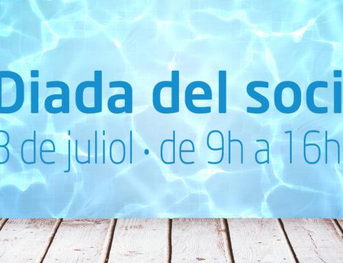 Diumenge 8 de juliol celebrem la Diada del Soci, amb activitats per a tots els públics