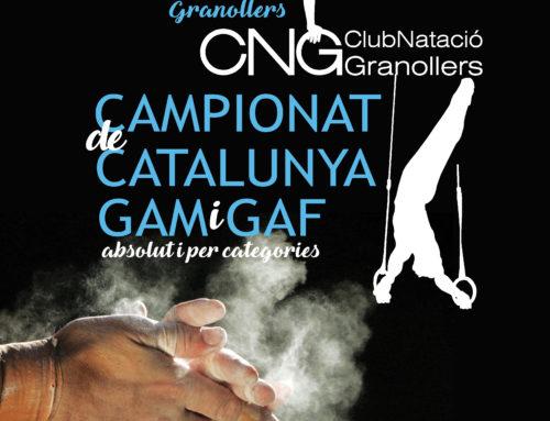 El CN Granollers organitza el Campionat de Catalunya d'Artística al Palau d'Esports