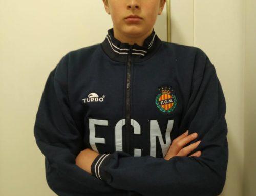 Plata per Dídac Garcia al Campionat d'Espanya per Federacions Territorials