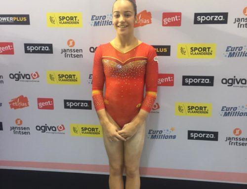 Berta Pujadas, 5a amb la selecció espanyola al torneig de Flanders