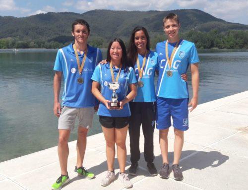 El CN Granollers, campió de Catalunya d'aigües obertes
