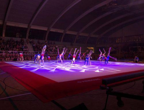 La gimnàstica artística ofereix un gran espectacle per tancar el curs esportiu