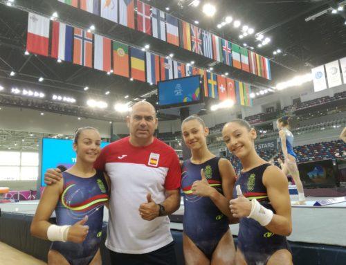 Berta Pujadas, al Festival Olímpic de la Joventut Europea