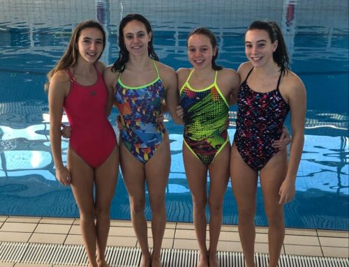Quatre nedadores infantils, preseleccionades per a la Copa Comen