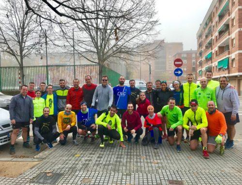 Una trentena de runners estrenen el recorregut de la CNG4Camins