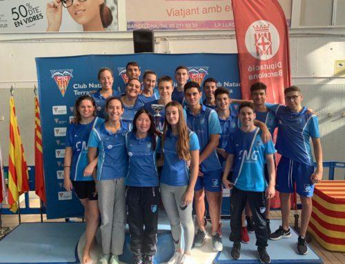 El CNG, 7è al Campionat de Catalunya Open Absolut