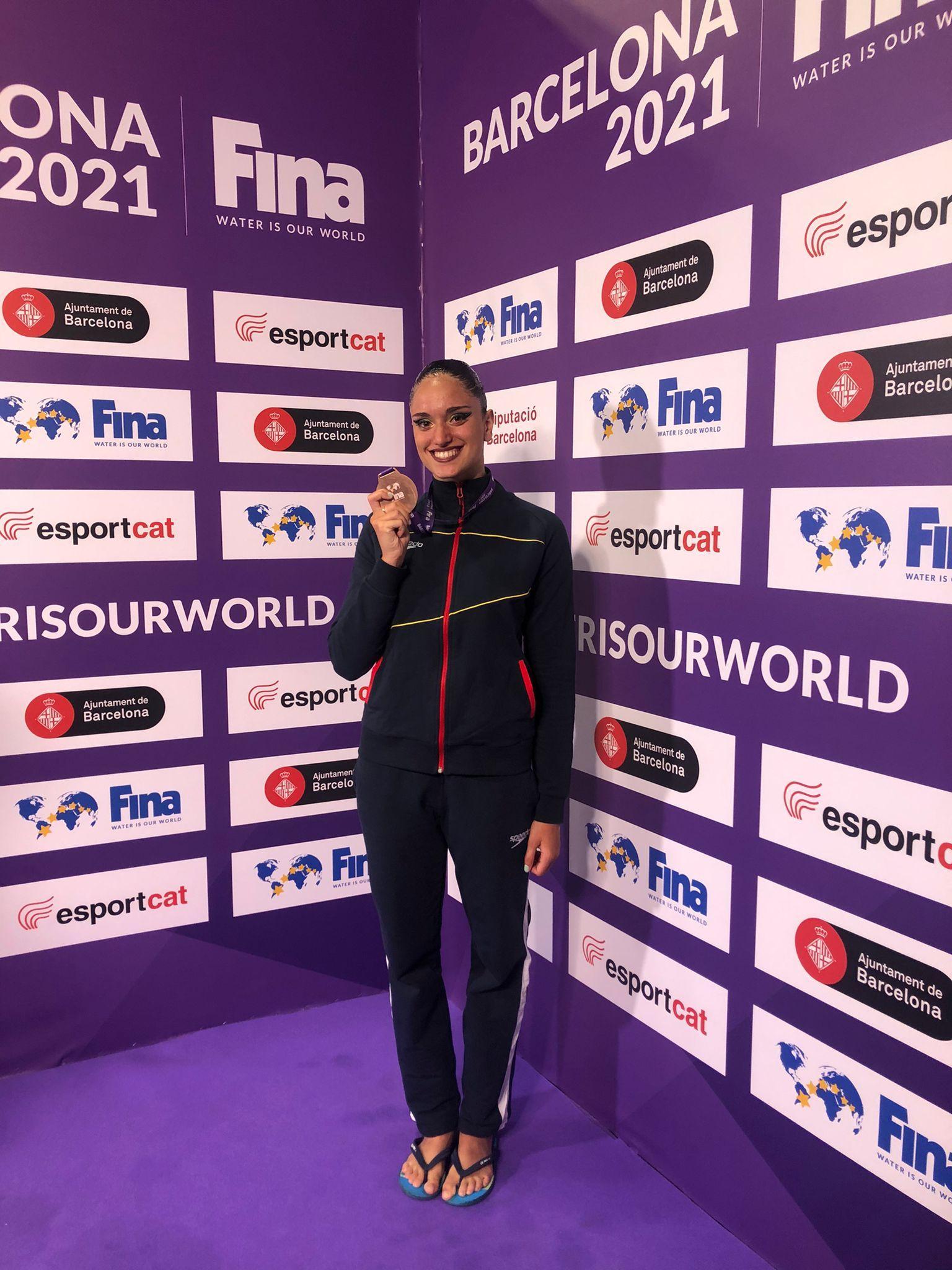 Mireia Hernández, bronze al solo lliure de la Super Final de les World Series