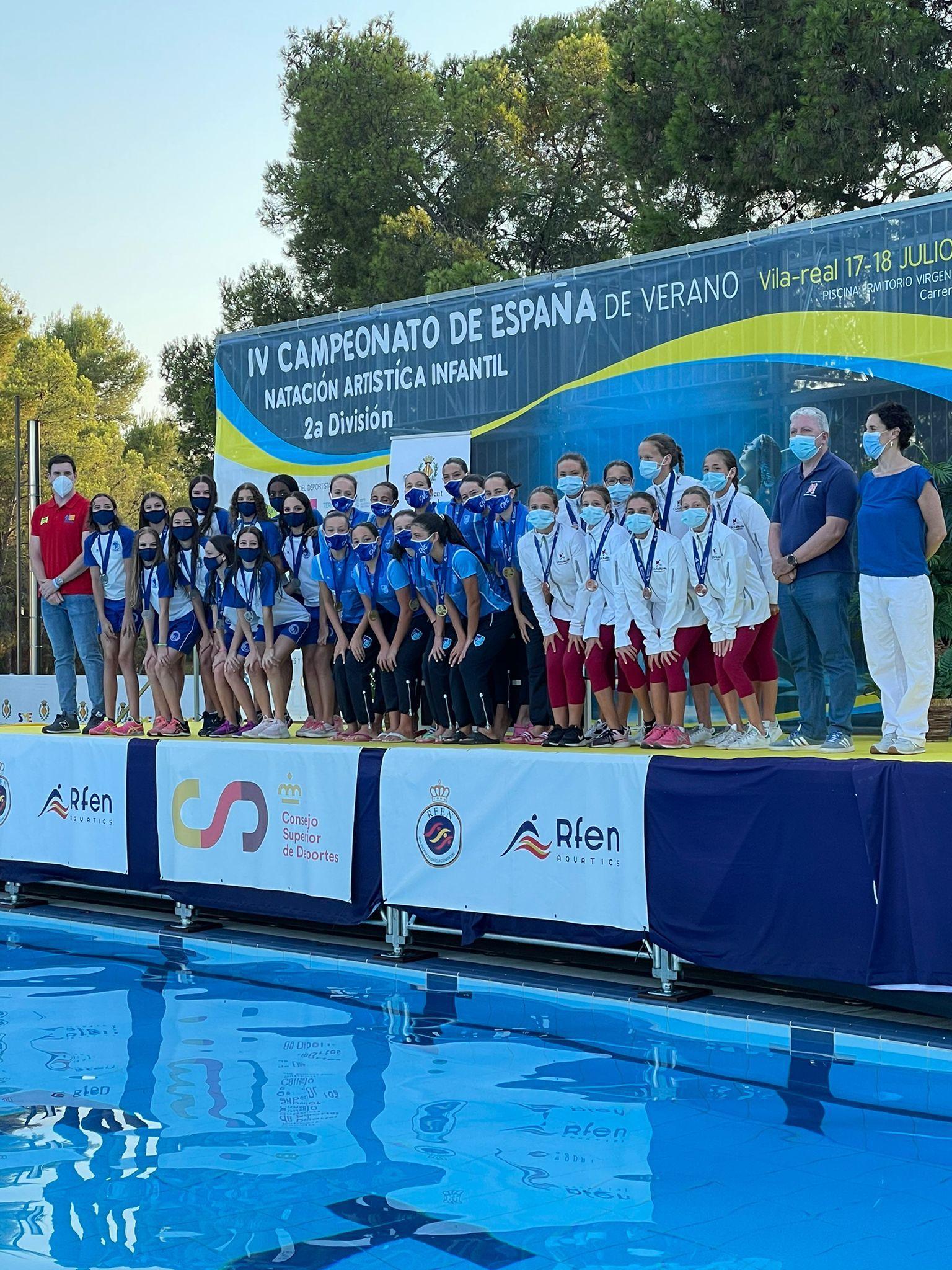Les infantils dominen el Campionat d'Espanya de 2a Divisió