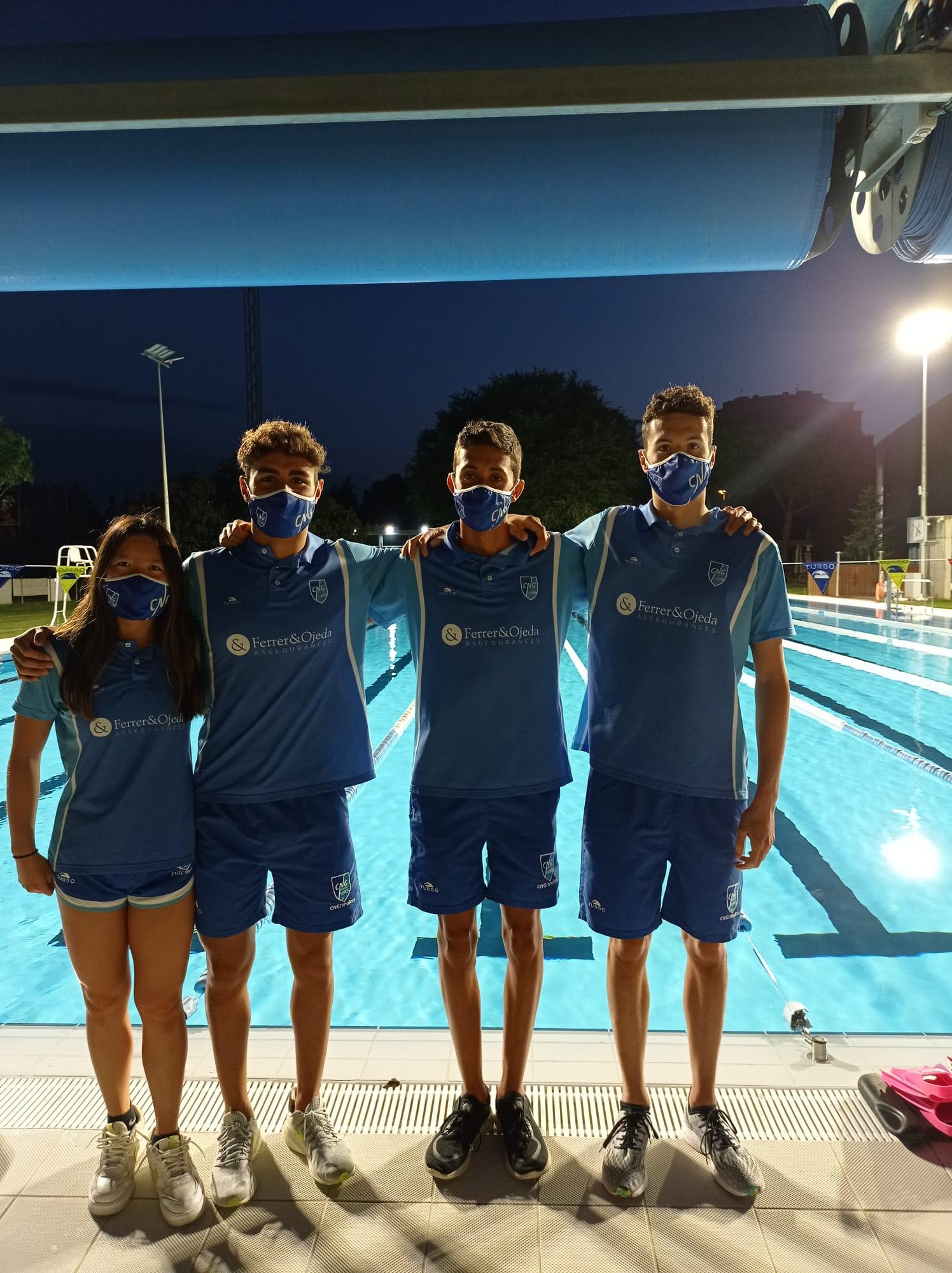 4 nedadors del CNG, preparats per a afrontar l'Estatal Absolut i Júnior