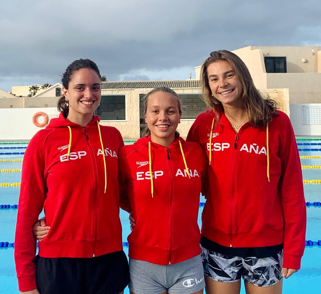 Tres nedadores del CNG, a la concentració de pretemporada de l'equip espanyol absolut