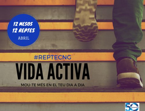 #RepteCNG del mes d'abril… porta una vida activa!