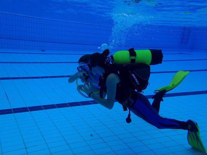 Dissabte 16 d abril bateig de submarinisme en piscina for Piscinas de granollers