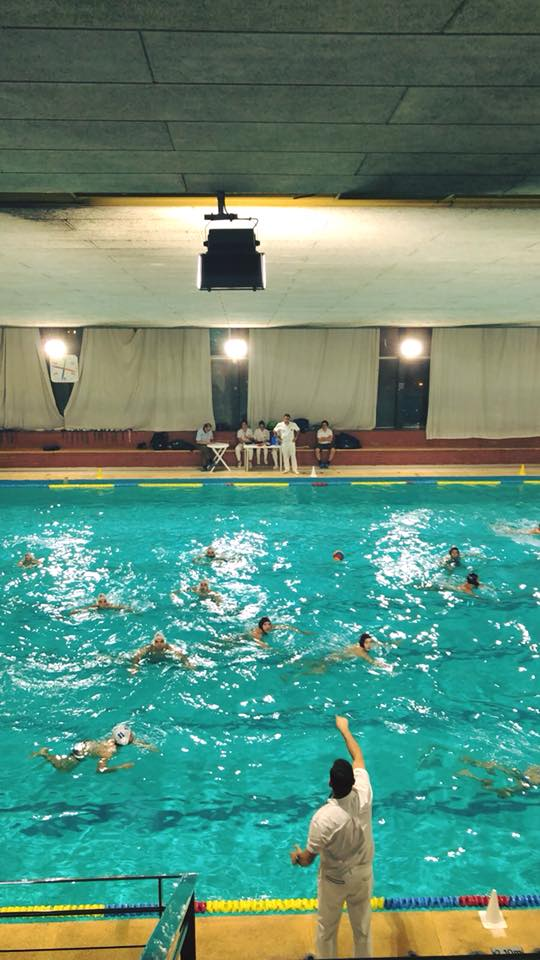 Visita a la complicada piscina del CN Montjuïc